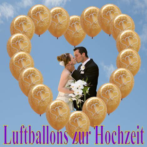 Hochzeit Luftballons by Ballongas Helium Luftballons