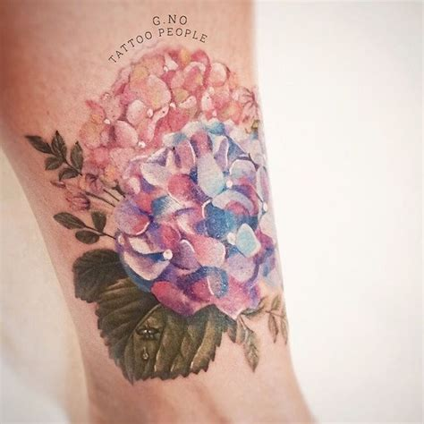 hydrangea tattoo 1000 ideas about hydrangea on