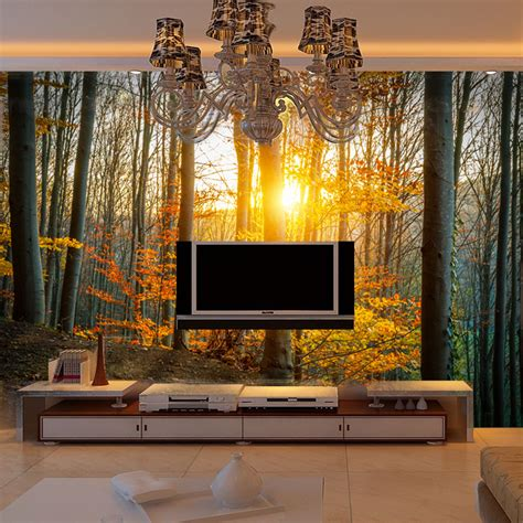 wall mural cheap get cheap nature wallpaper murals aliexpress alibaba