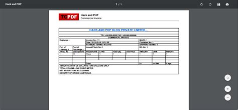 tutorial dompdf codeigniter export invoice in html page to pdf using codeigniter