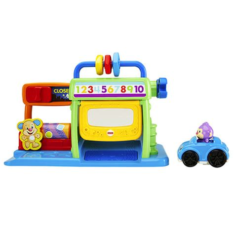 Fisher Price Laugh Learn Puppys Learning Car X2139 laugh learn 174 puppy s numbers garage
