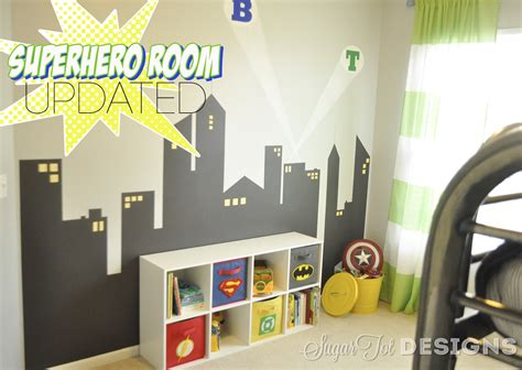super hero bedroom sugartotdesigns superhero bins tutorial and printable