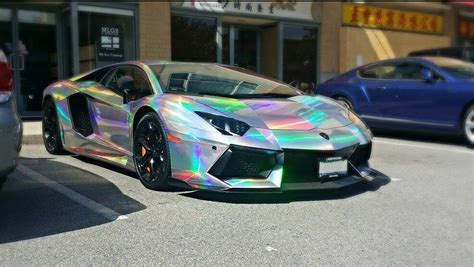 holographic car sale 1 52x20m air drain film holographic foil