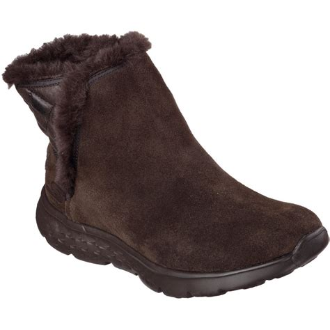 skechers womens on the go 400 cozies faux fur lined