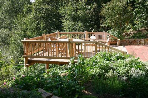 terrasse hang terrasse auf hang terrasse auf hangbaum haus bau gmbh holz