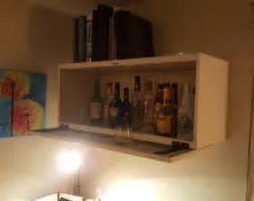 Floating Bar Cabinet Bar Cabinet Etsy