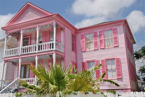Pink House by Snippets From Springdale This And That About A Lot