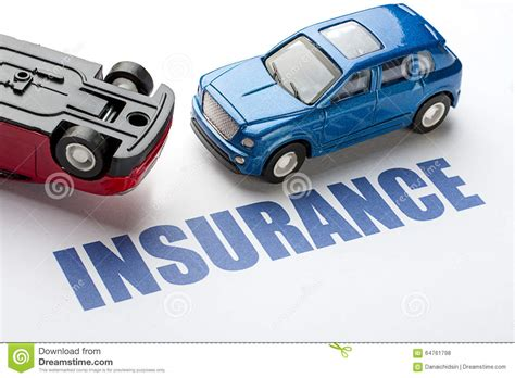 Motor Vehicle Insurance by Car Insurance Stock Photo Image 64761798
