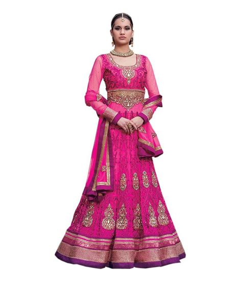 Fadiya Dress By Zoya Fashion zoya fashion pink net unstitched dress material buy zoya