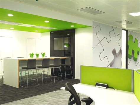 Modern Home Interior Color Schemes by Contemporary Office Design Qliktech England 171 Adelto Adelto