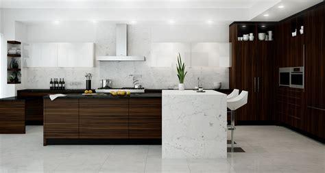 sleek  nature downsview kitchens  fine custom