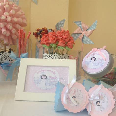 decoracion con chuches para comuniones comuniones mesa dulce regalos a invitados en un