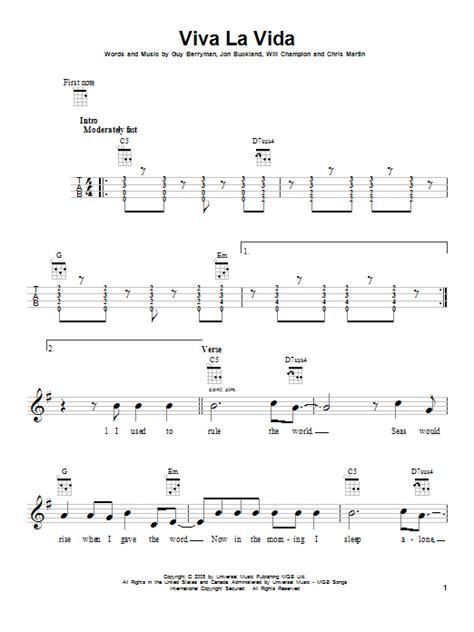 guitar tutorial viva la vida viva la vida by coldplay ukulele guitar instructor