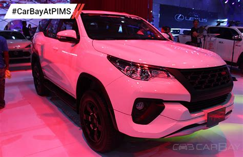 Ring Fogl Fortuner Model Trd toyota fortuner trd is the eye at toyota s booth carbay
