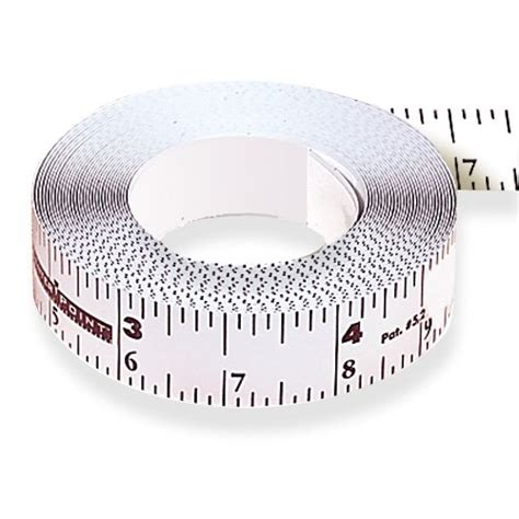 bench tape measure tape measures center point self adhesive bench tape 12 ft