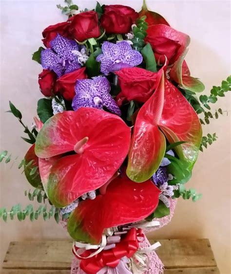 fiori a gambo lungo mazzo di fiori a gambo lungo quot powerfull colors quot giardino