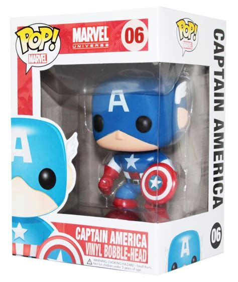 Original Funko Pop Marvel Captain America With Photon Shield 159 exclusive funko 75th anniversary captain america pop vinyl
