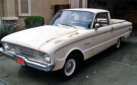 Barn Auto Parts Low Mileage Parts Hauler 1960 Ford Ranchero