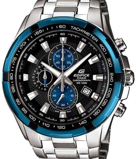 Casio Edifice Ef 523 Silverblack casio chronograph edifice silver