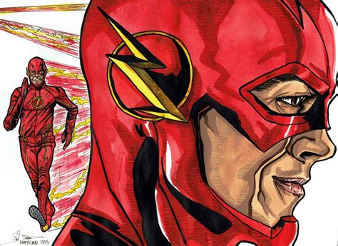 flash painting free the flash a dredfunn watercolour painting