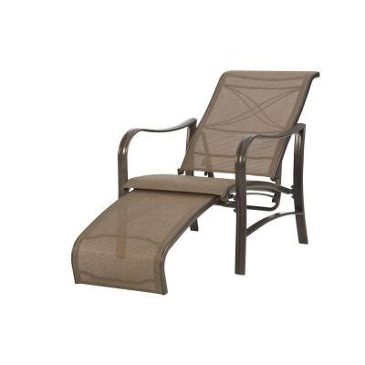 Re Sling Patio Chairs Martha Stewart Living Grand Bank Patio Reclining Lounge