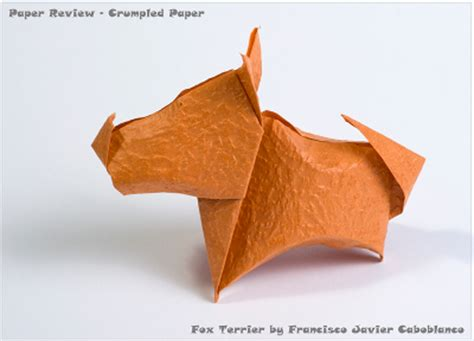 dogs in origami 30 breeds from terriers to hounds books crumpled paper review happy folding