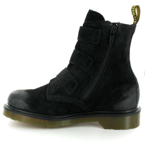 dr martens dr martens womens suede leather 3 buckle