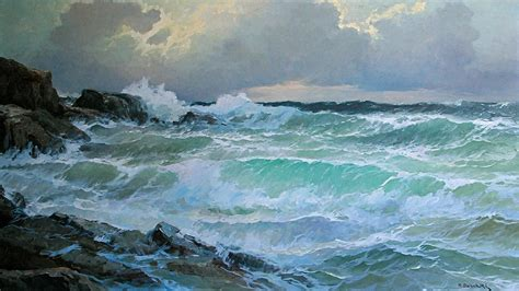 alexander dzigurski paintings alexander dzigurski mendocino gale full file