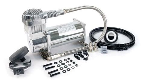 viair   chrome compressor air ride suspension