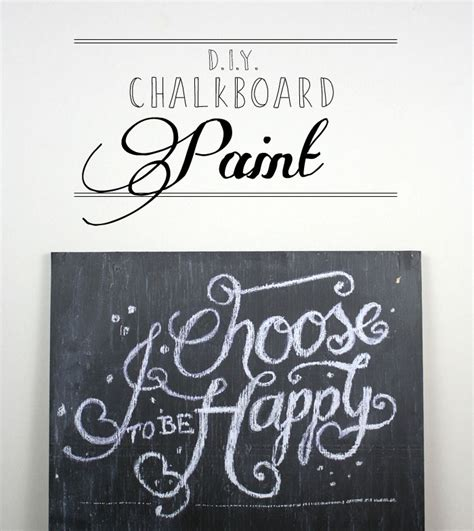chalkboard paint make your own chalkboard paint tutorial how to make your own