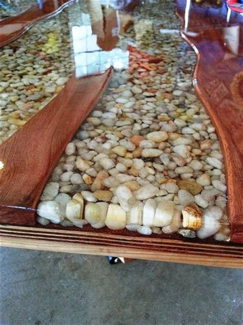 how to make a river table 20140629 184412 river stones epoxy and cherries
