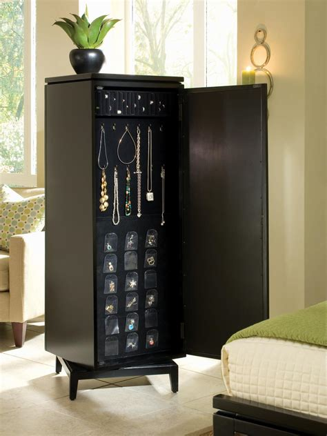 jewelry armoire home goods wood furniture storage home decor accessories