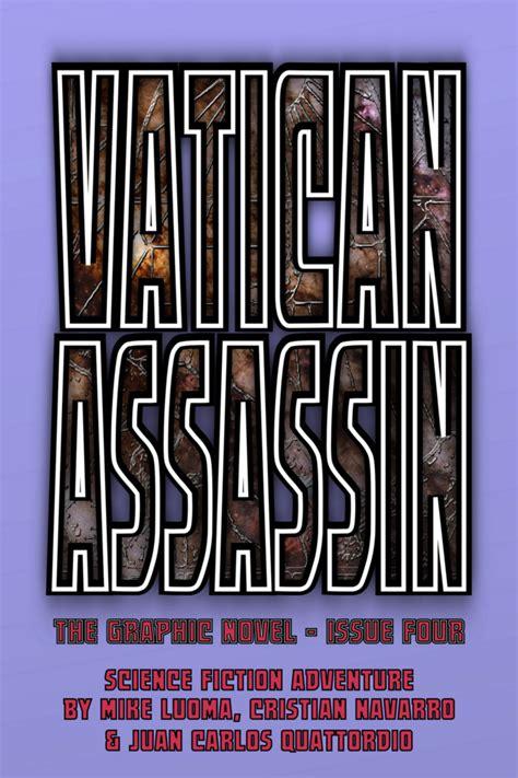 Vatican Assassin vatican assassin the graphic novel 4 issue