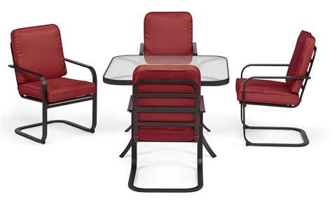 Kmart Chairs Dining Essential Garden Bisbee 4 Dining Chairs Kmart