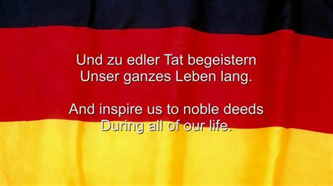 national anthem germany quot das deutschlandlied quot germany national anthem german