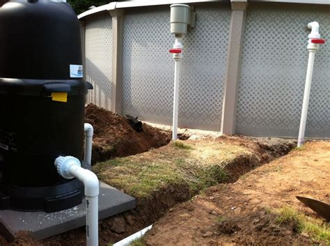 How To Plumb Above Ground Pool by Plumbed Above Ground Pool Idea Outdoor Stuff