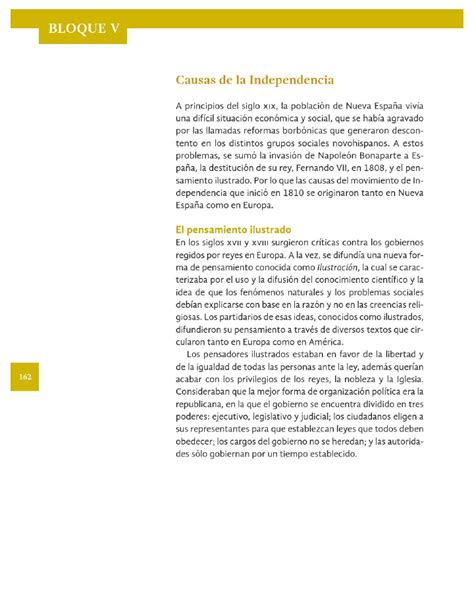libro de 4to grado de la sep historia bloque v pag 156 ayuda paco el chato respuestas causas de la independencia historia 4to bloque 5 apoyo