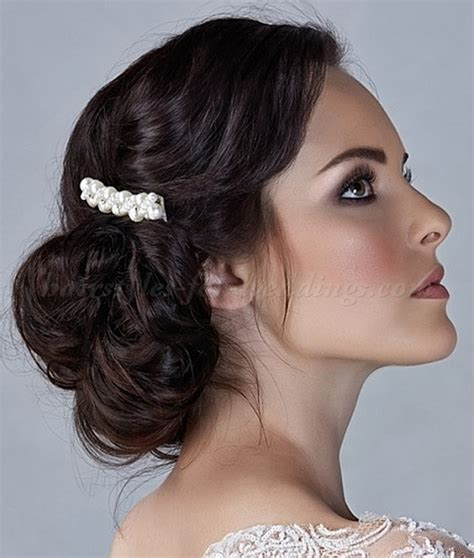 low chignon wedding hairstyle low bun wedding hairstyles low bun wedding hairstyle