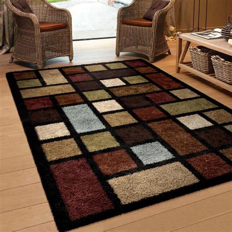 Rugs Area Rugs Area Rugs Carpet Flooring Area Rug Floor Decor Modern Shag Rugs Sale New Ebay
