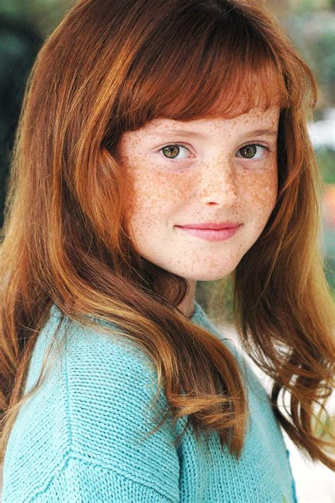 kid actresses with red hair headshot in natural light www davidlaporte kids