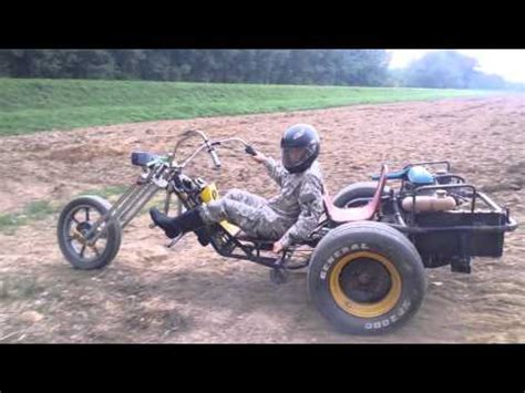 car made with engine home made trike with car engine