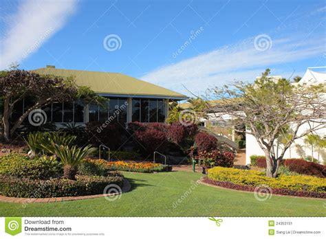 backyard hotel backyard in hotel stock image image 24353151