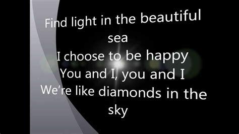 testo diamonds rihanna rihanna diamonds lyrics