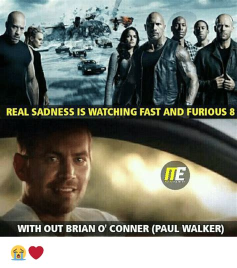fast and furious 8 zonder paul walker real sadness is watching fast and furious 8 with out brian