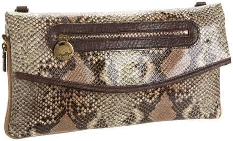 Simpsons Python Pacha Purse by Front Row Clutch Python One Size
