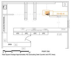 retail layout pdf pharmacy gift shop floorplan floor plan ideas