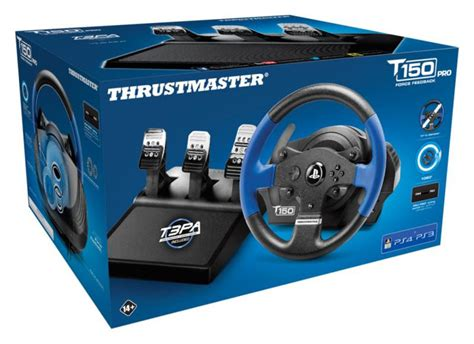 volante thrustmaster ps4 thrustmaster t150 pro feedback wheel for pc ps3
