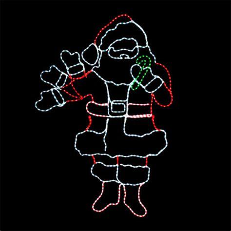 animated waving santa led waving santa waving santa light birddog distributing
