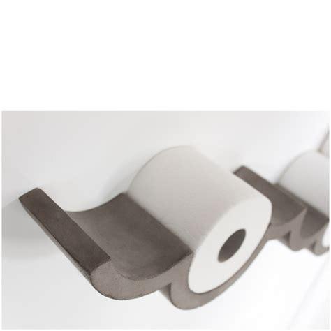 Toilet Paper Shelf by Lyon Beton Concrete Cloud Toilet Paper Shelf Large