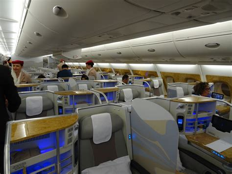 emirates business class cabin review emirates business class barcelona to dubai a380
